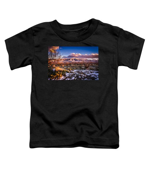 Toddler T-Shirt featuring the photograph Colors Of Winter by Mark Myhaver
