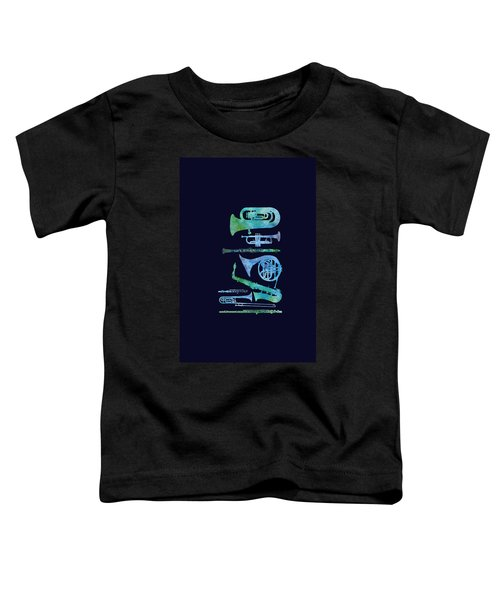 Cool Blue Band Toddler T-Shirt