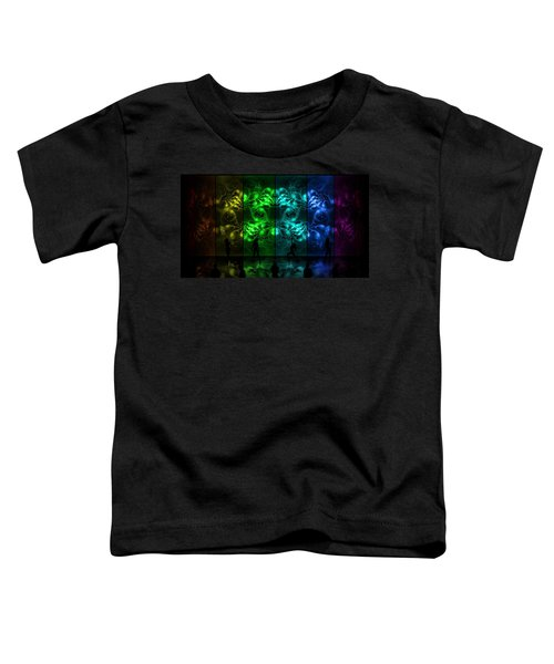 Toddler T-Shirt featuring the digital art Cosmic Alien Vixens Pride by Shawn Dall