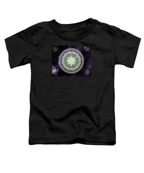 Cosmic Medallions Earth Toddler T-Shirt