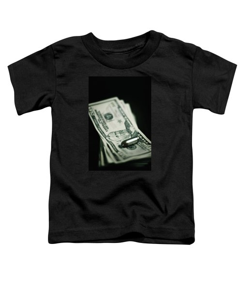 Cost Of One Bullet Toddler T-Shirt