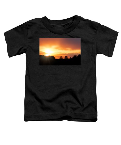 Country Sunset Silhouette Toddler T-Shirt