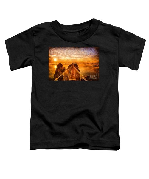 Cross That Bridge Toddler T-Shirt