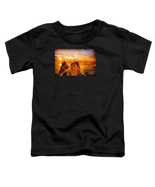 Cross That Bridge Toddler T-Shirt