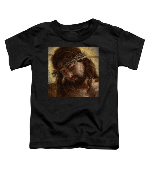 Crown Of Thorns Glass Mosaic Toddler T-Shirt