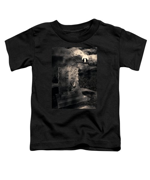 Crows In The Graveyard Toddler T-Shirt