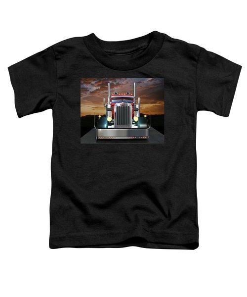 Custom Peterbilt Toddler T-Shirt