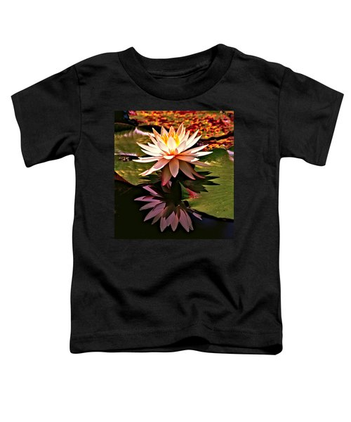 Toddler T-Shirt featuring the photograph Cypress Garden Water Lily by Bill Barber