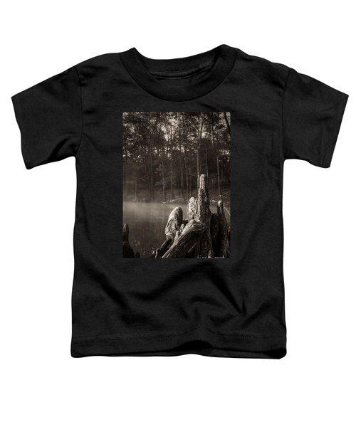 Cypress Knees In Sepia Toddler T-Shirt