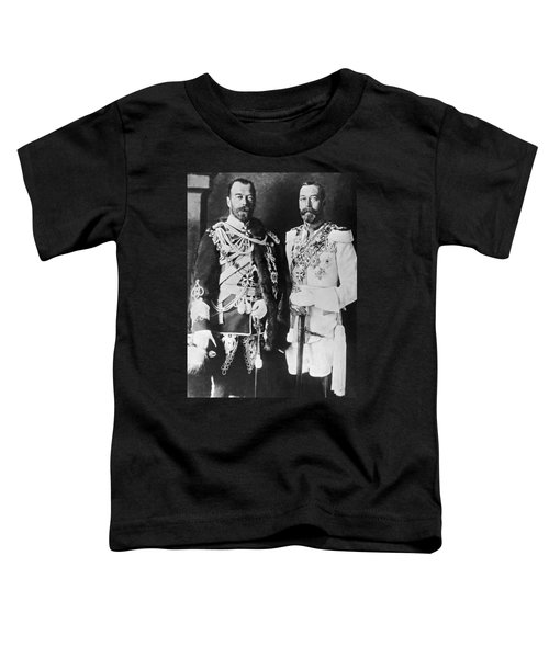 Czar Nicholas And King George V Toddler T-Shirt