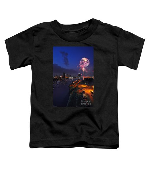 D12u470 Red White And Kaboom In Toledo Ohio Photo Toddler T-Shirt