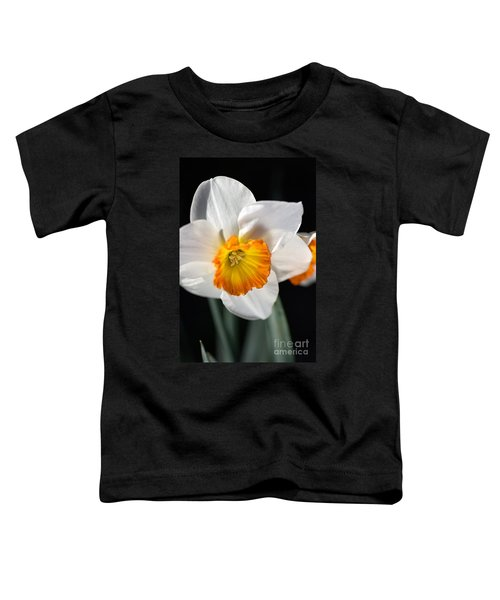 Daffodil In White Toddler T-Shirt