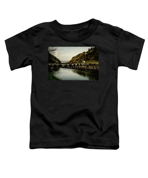 Dam On Adda River Toddler T-Shirt