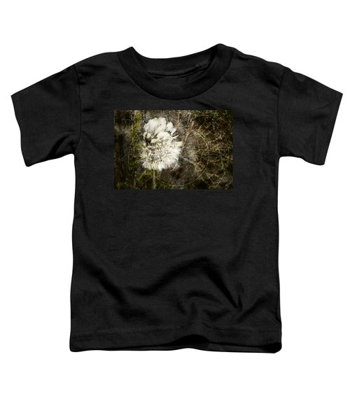 Dandelions Don't Care About The Time Toddler T-Shirt