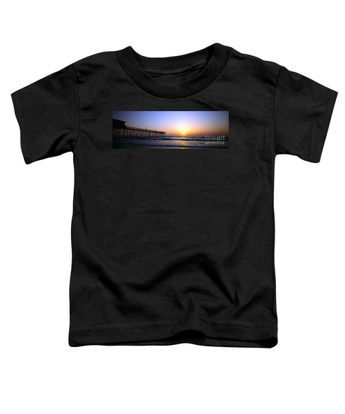 Daytona Sun Glow Pier  Toddler T-Shirt