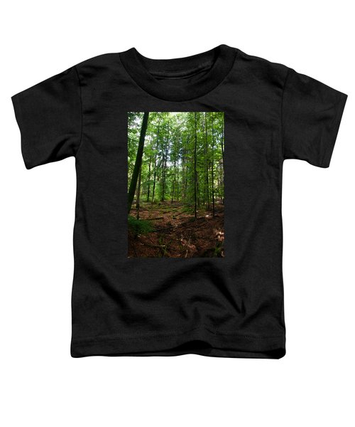 Deep Forest Trails Toddler T-Shirt