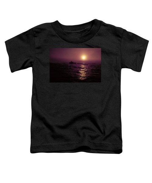 Deep Sea Fishing Off West Port Wa II Toddler T-Shirt