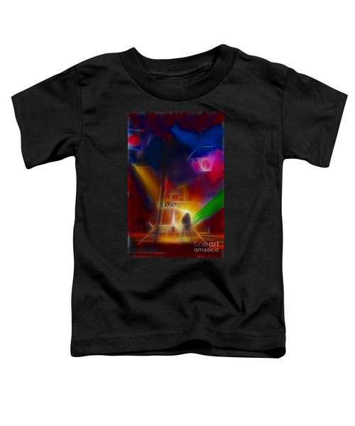 Def Leppard-adrenalize-gf10-fractal Toddler T-Shirt by Gary Gingrich Galleries