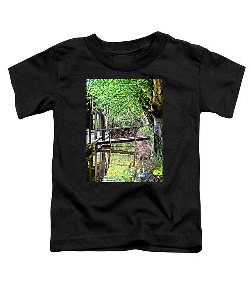 Delta Marina Dock Toddler T-Shirt