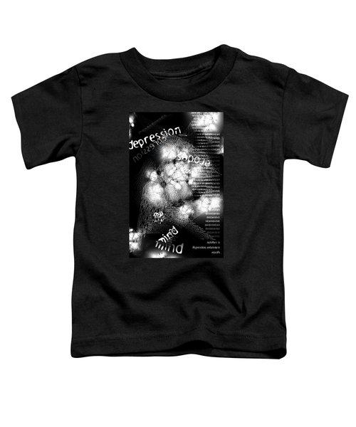 Depression Erodes My Mind Toddler T-Shirt