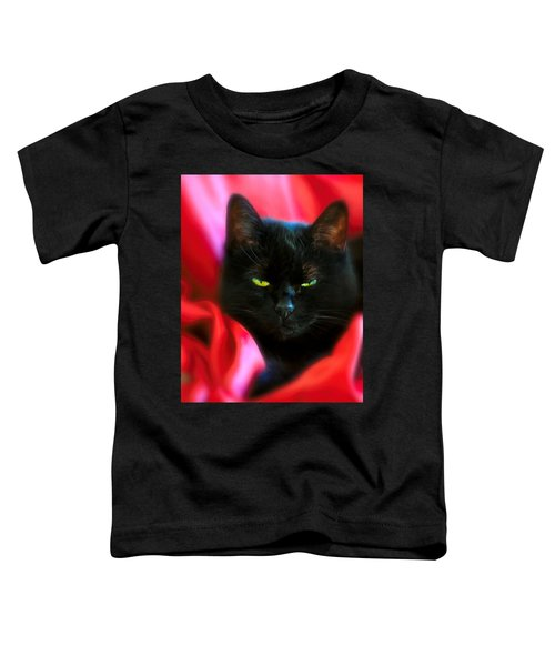 Devil In A Red Dress Toddler T-Shirt by Bob Orsillo
