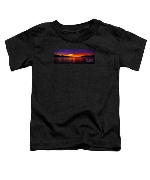 Dexter Lake Oregon Sunset 2 Toddler T-Shirt
