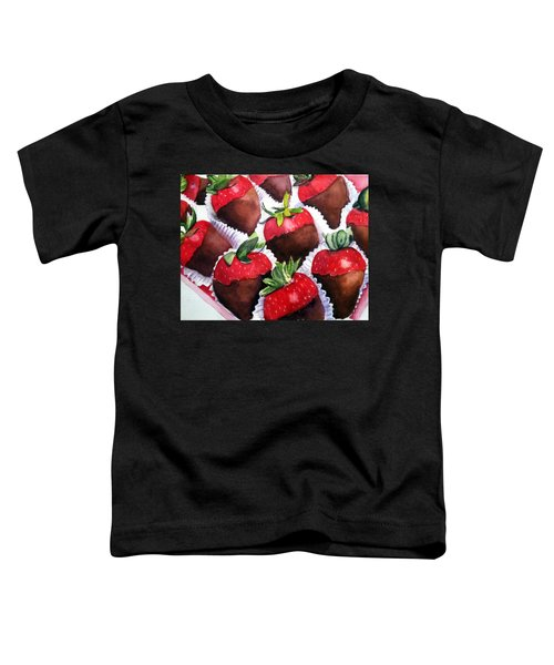 Dipped Strawberries Toddler T-Shirt