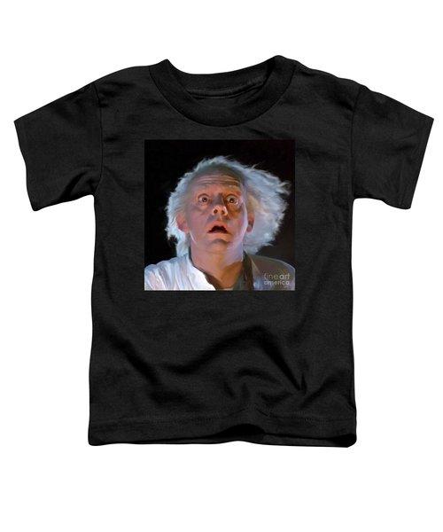 Doc Brown Toddler T-Shirt