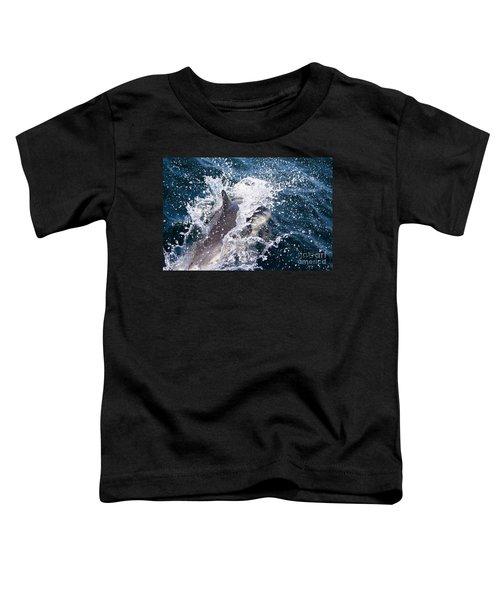 Dolphin Splash Toddler T-Shirt