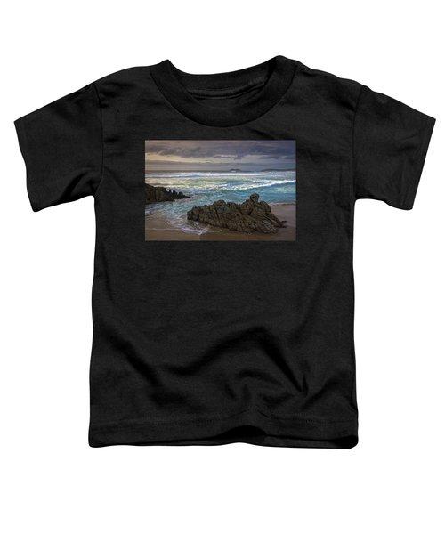 Doninos Beach Ferrol Galicia Spain Toddler T-Shirt