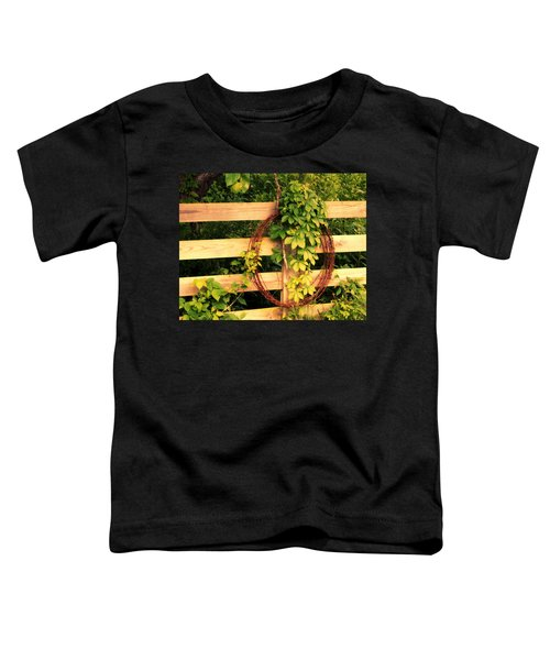 Don't Fence Me In Toddler T-Shirt