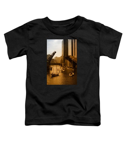 Downtown Chicago Toddler T-Shirt