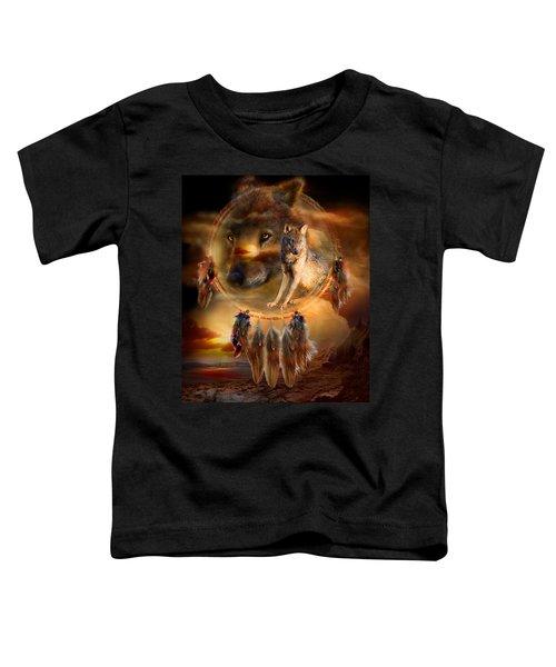 Dream Catcher - Wolfland Toddler T-Shirt