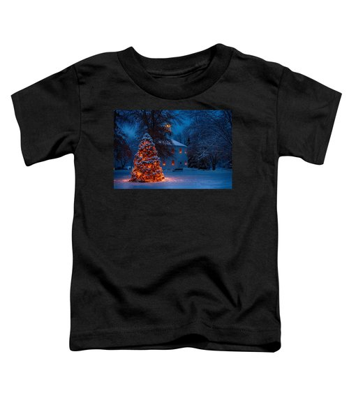 Christmas At The Richmond Round Church Toddler T-Shirt