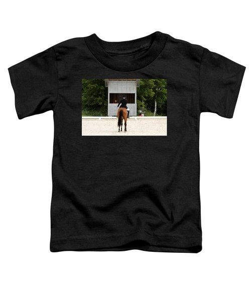 Dressage Salute Toddler T-Shirt