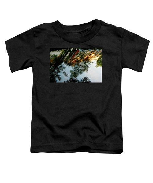 Dutch Canal Reflection Toddler T-Shirt