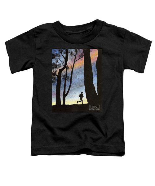 Early Morning Run Toddler T-Shirt