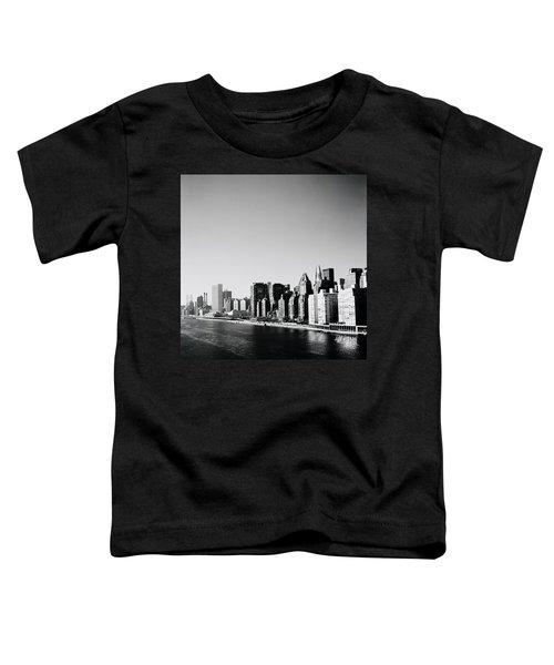 East River New York Toddler T-Shirt