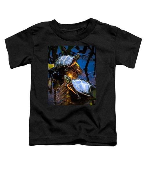 Eastern Painted Turtles Toddler T-Shirt