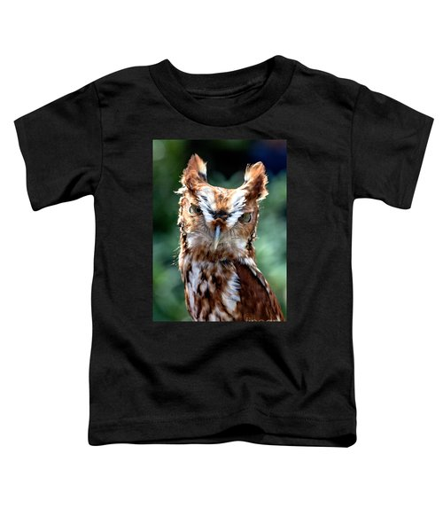 Eastern Screech-owl Toddler T-Shirt