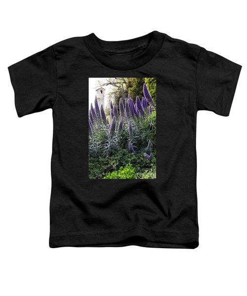 Echium And Tower Toddler T-Shirt