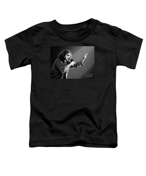 Eddie Vedder  Toddler T-Shirt by Meijering Manupix