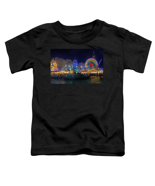 Edinburgh Christmas Market Toddler T-Shirt
