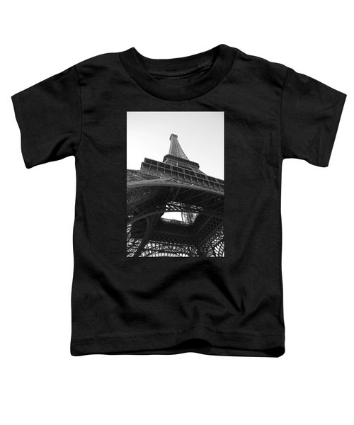 Eiffel Tower B/w Toddler T-Shirt