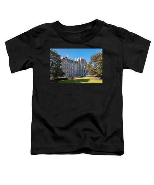 Eisenhower Executive Office Building In Washington Dc Toddler T-Shirt