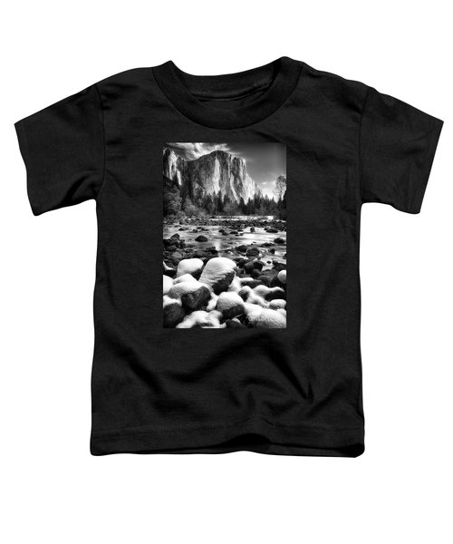 El Cap And Snow Toddler T-Shirt