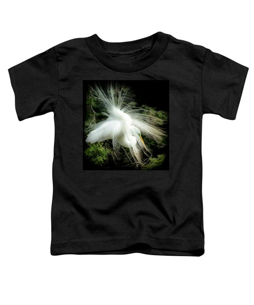 Elegance Of Creation Toddler T-Shirt by Karen Wiles