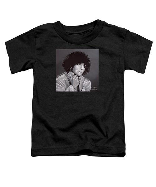 Elizabeth Taylor Toddler T-Shirt by Paul Meijering