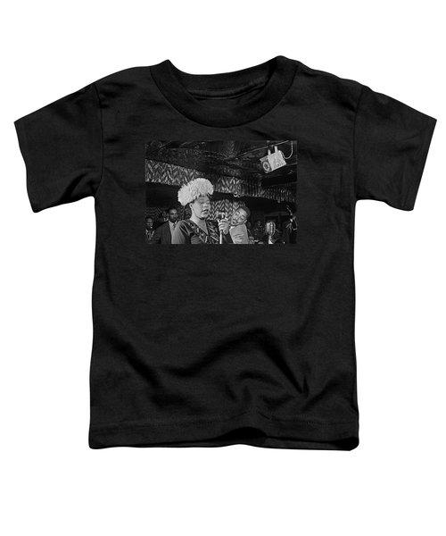 Ella Fitzgerald And Dizzy Gillespie William Gottleib Photo Unknown Location September 1947-2014. Toddler T-Shirt