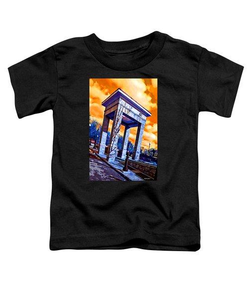 Ellicott City Courthouse Path Toddler T-Shirt